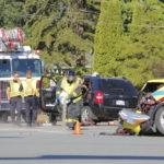 SUV Head On Collision