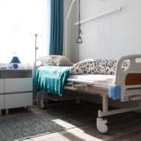 The interior room of a nursing home